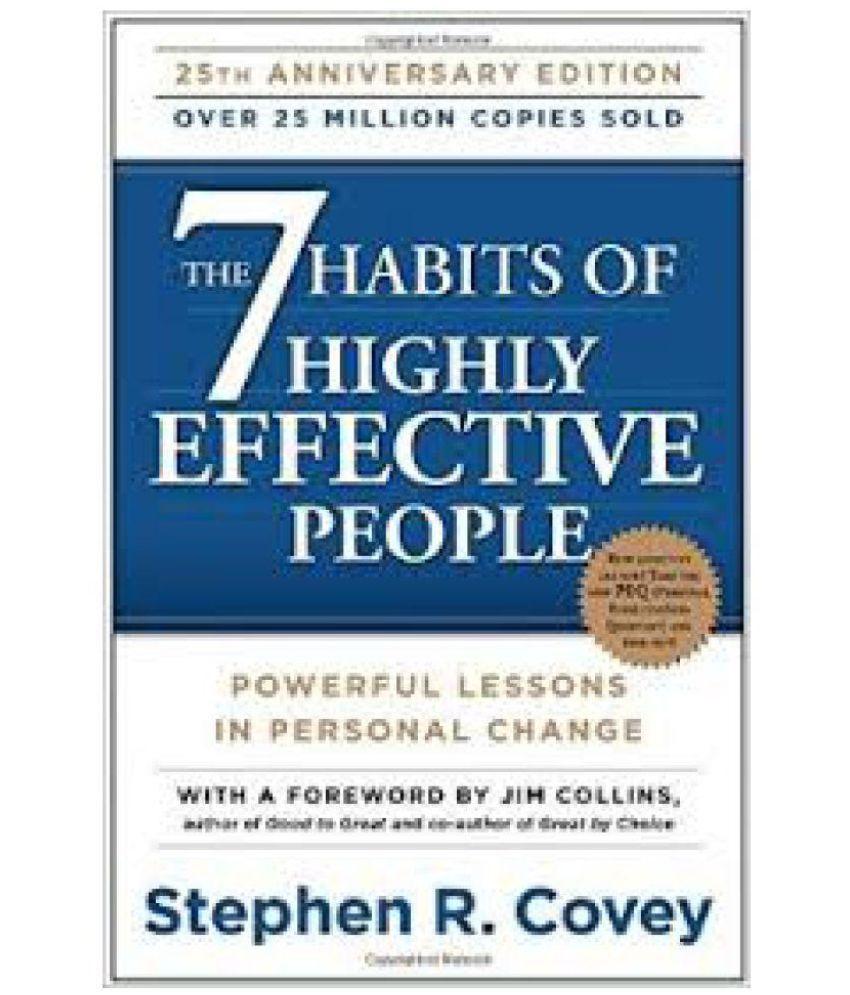 The 7 Habits of Highly Effective People price comparison at Flipkart, Amazon, Crossword, Uread, Bookadda, Landmark, Homeshop18