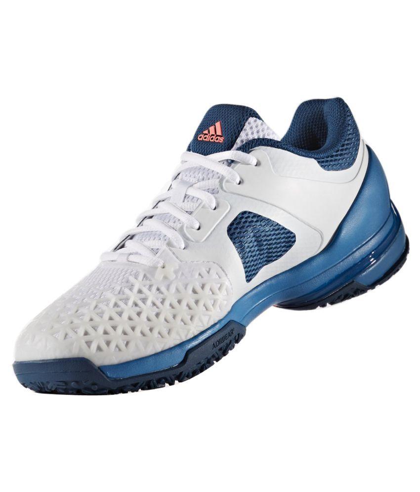 7be0d88b497 Adidas Adizero Club OC White Male Non-Marking Shoes - Buy Adidas Adizero  Club OC White Male Non-Marking Shoes Online at Best Prices in India on  Snapdeal