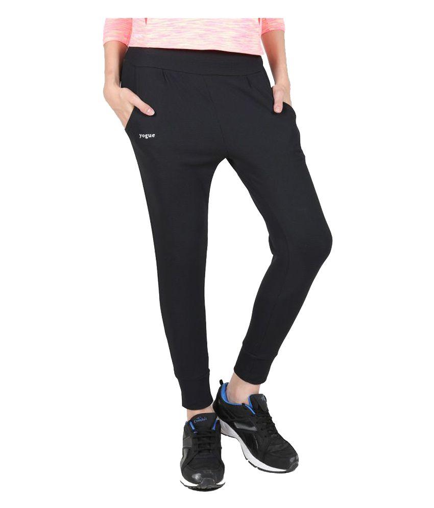 Yogue Black Bottomwear