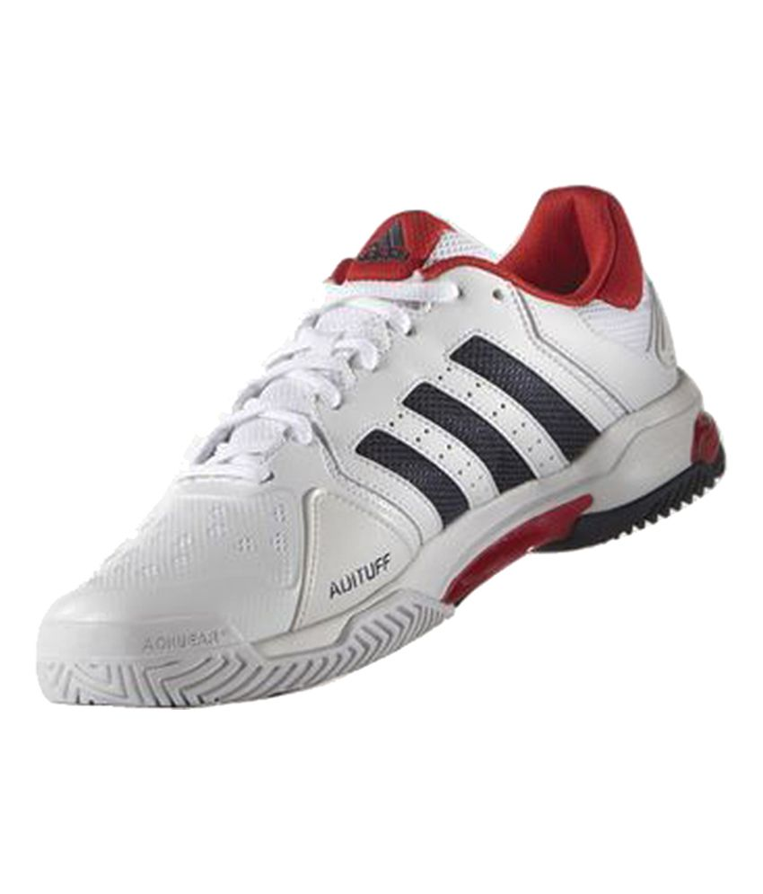 4143fa6aa69 Adidas Barricade Club White Male Non-Marking Shoes - Buy Adidas Barricade  Club White Male Non-Marking Shoes Online at Best Prices in India on Snapdeal