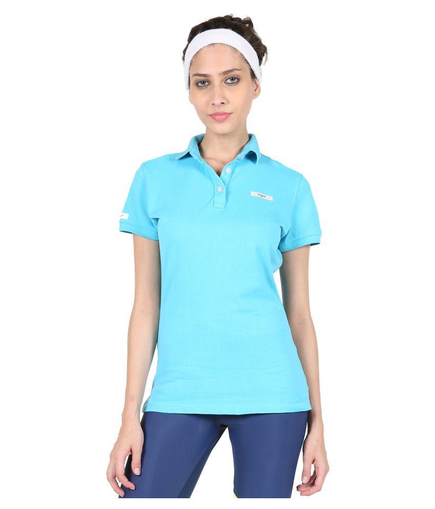 Yogue Sky Blue Polo T-Shirt