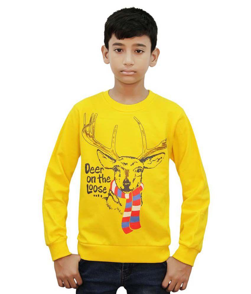 Kothari Yellow B-Sweatshirts