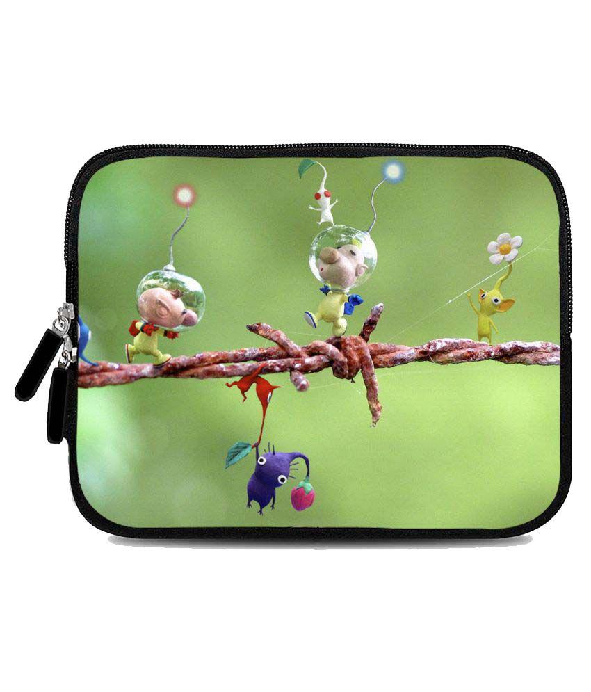 Micromax Fantabulet F666 Tablet Sleeve By Zapcase Multi Color