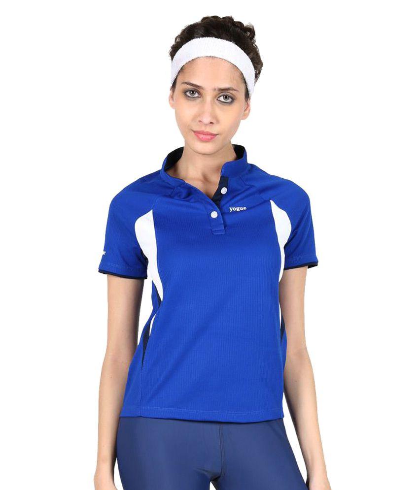 Yogue Blue Marathon T-Shirt