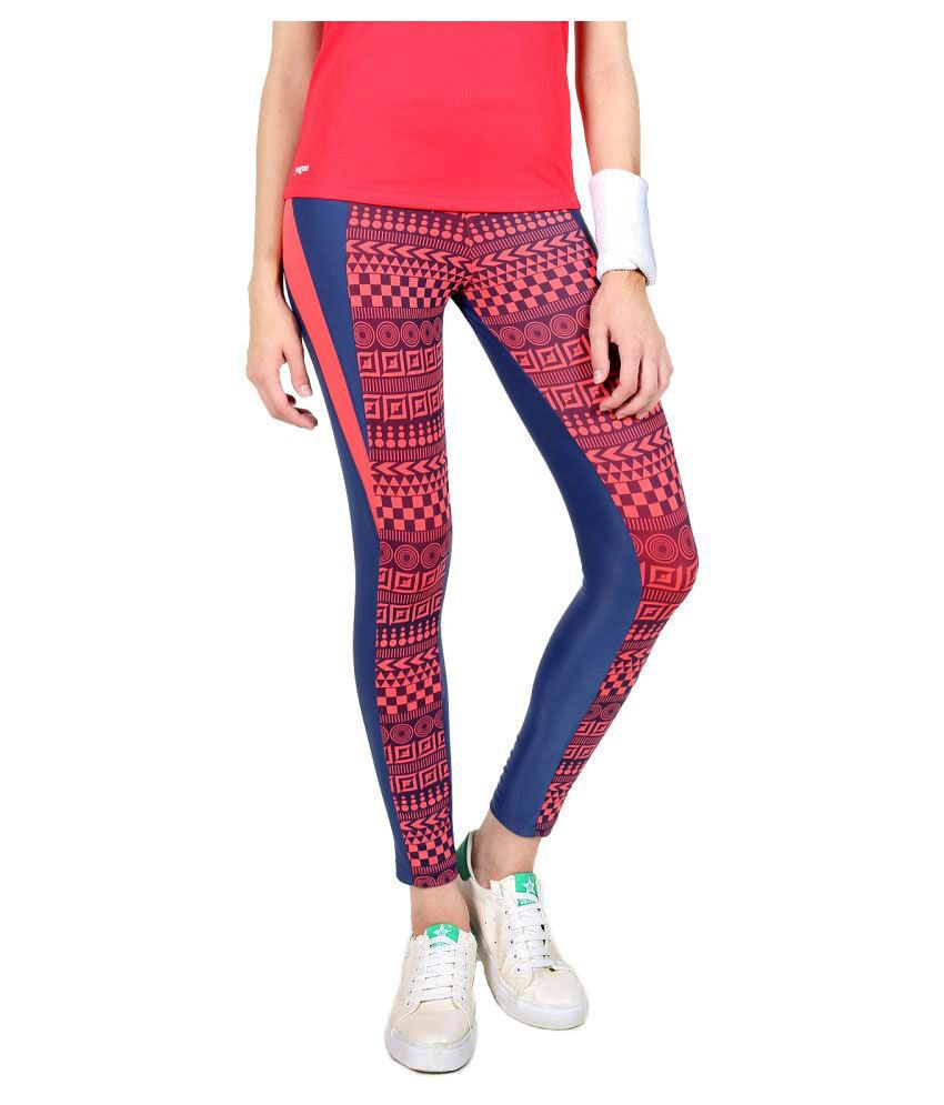 Yogue Multicolour Printed Leggings