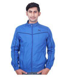 Puma Blue Casual Jacket