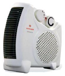 Singer 2000 Watts Heat Blow Room Heater White