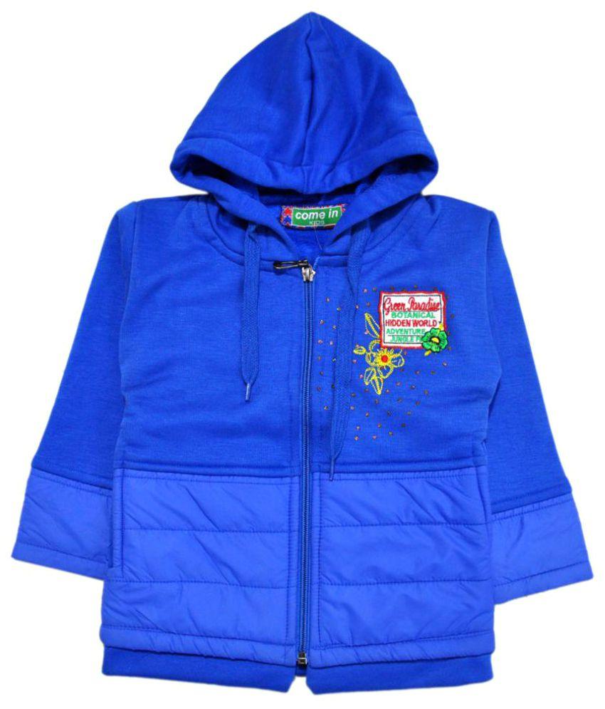Come In Kids Blue Fleece Sweatshirt