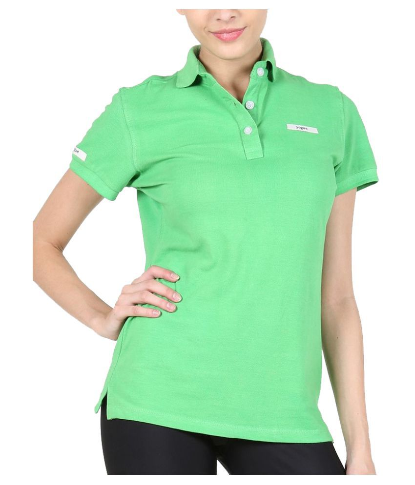 Yogue Green Polo T-Shirt
