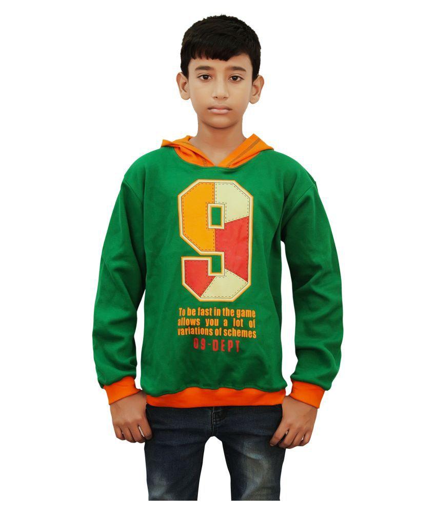 Kothari Green Fleece Sweatshirt