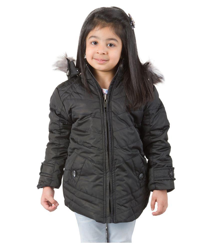 Burdy Black Nylon Jacket