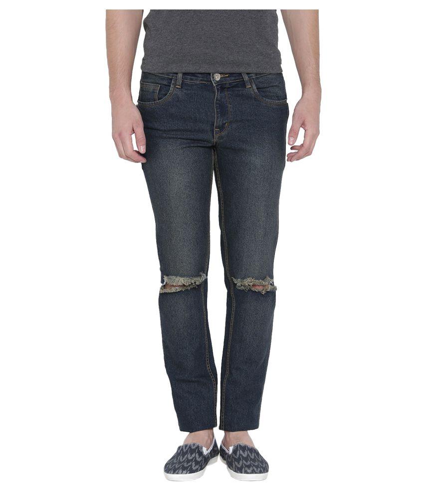 Hubberholme Blue Slim Jeans