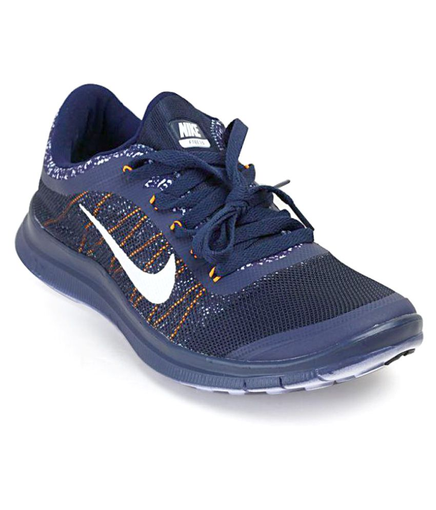 on sale 12487 f4793 Nike Free Run 3.0 Navy Running Shoes