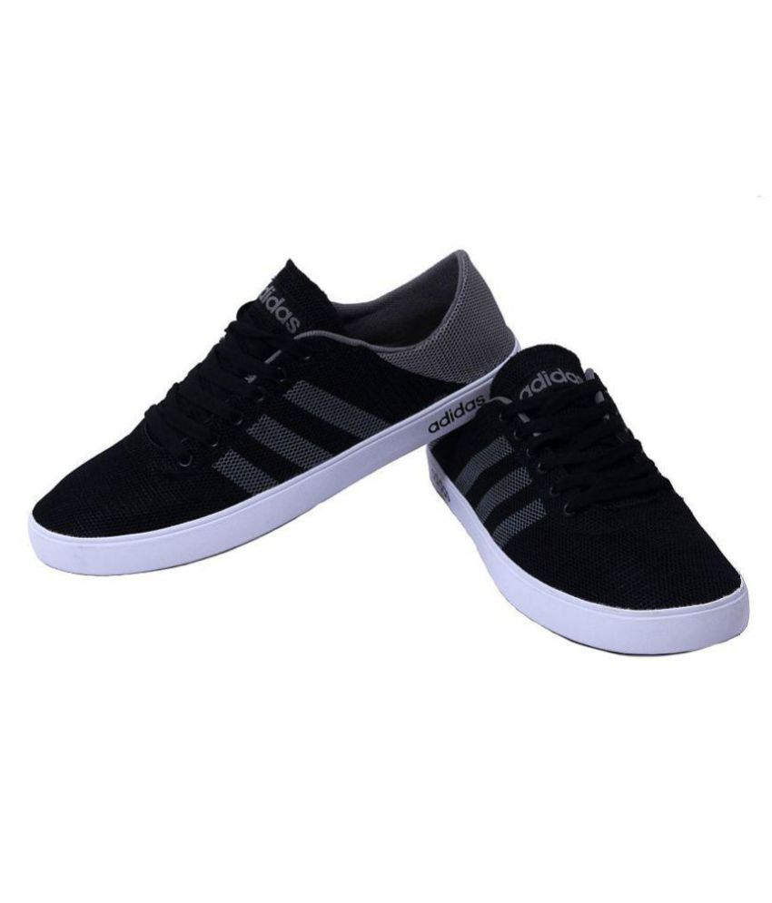 adidas neo black cheap sneaker