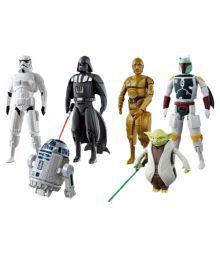 Azi Multicolor Super Hero Action Figures - Set Of 6