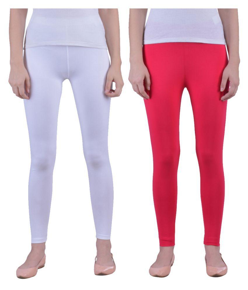 0acc28951df5d1 Dollar Missy Cotton Lycra Pack of 2 Leggings Price in India - Buy Dollar  Missy Cotton Lycra Pack of 2 Leggings Online at Snapdeal