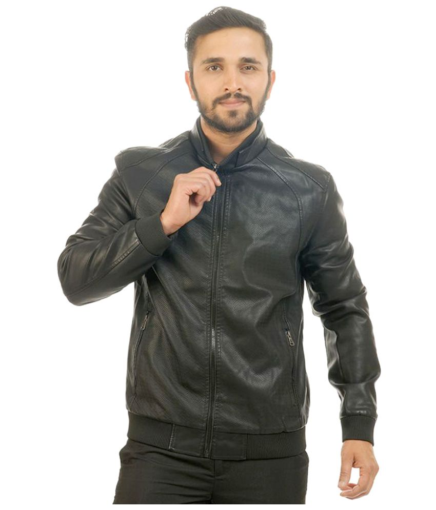 Four One Oh Black Casual Jacket
