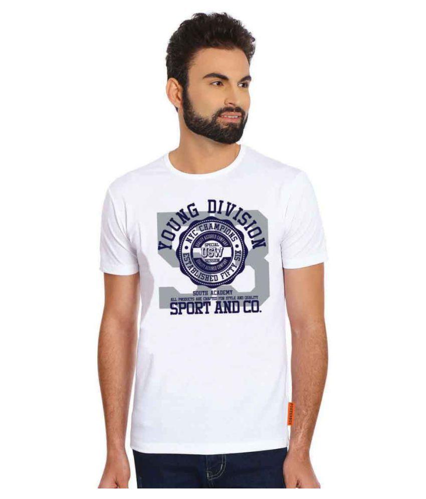 Posterboy White Round T-Shirt