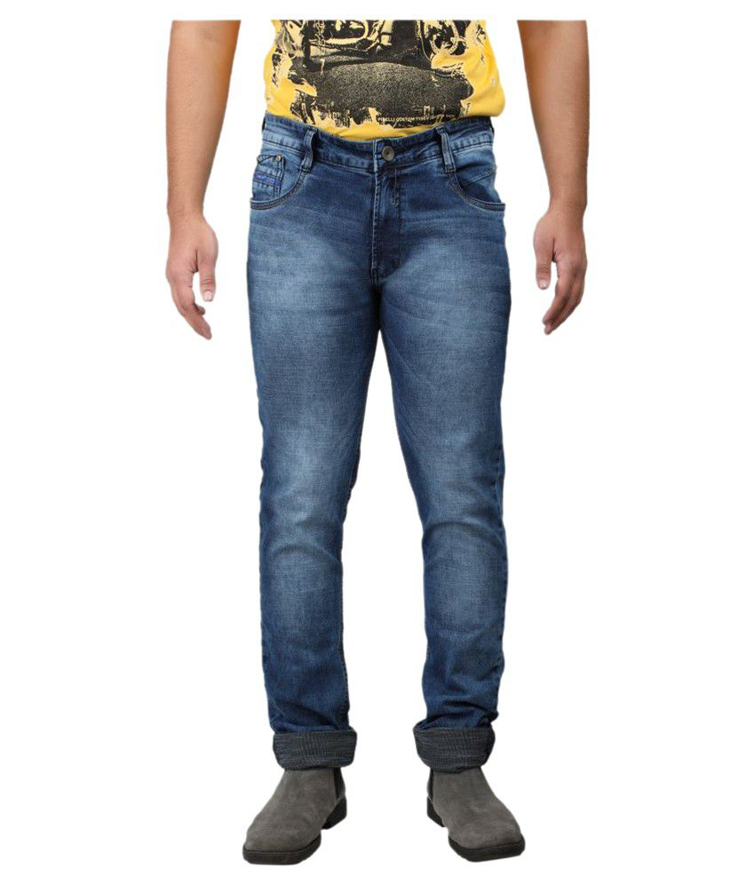 Asaba Dark Blue Slim Jeans