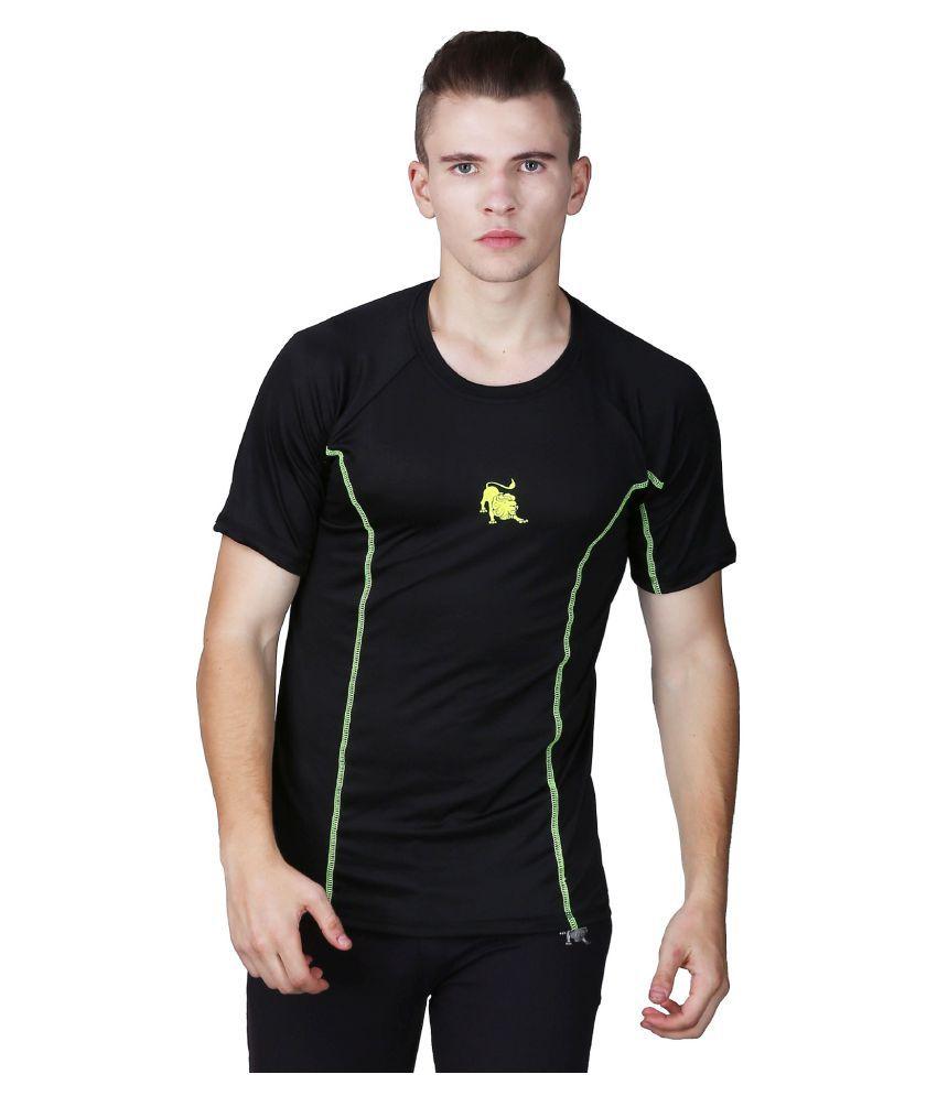 L'appel Du Vide Black Polyester T-Shirt Single Pack