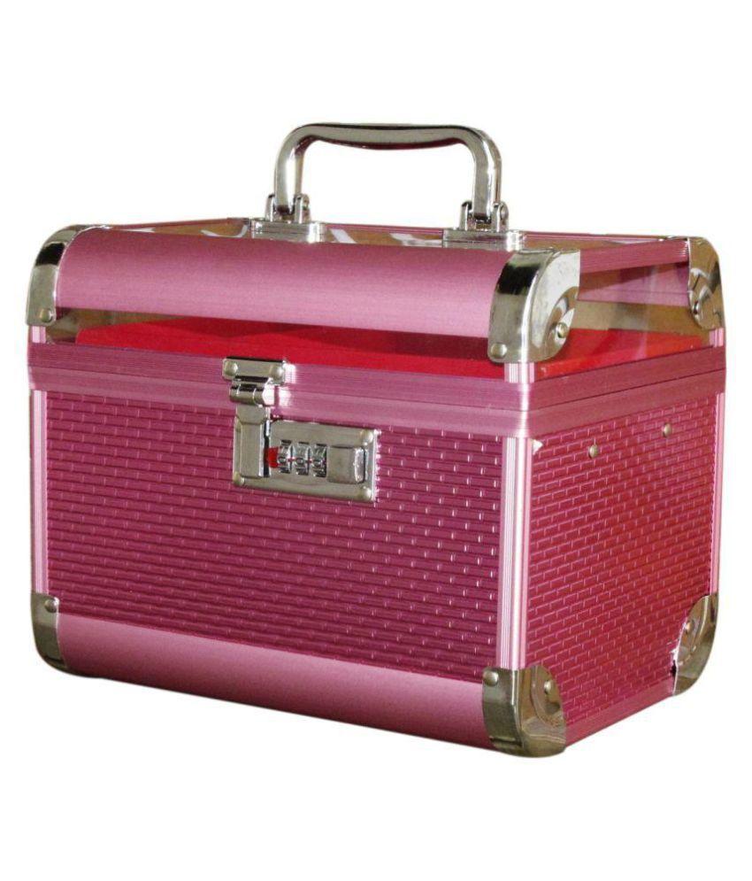 Pride Pink Aluminum Jewellery Box