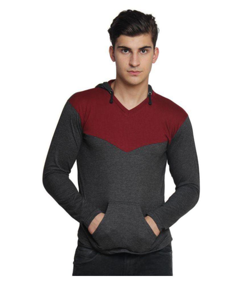 Bigidea Grey Hooded T-Shirt