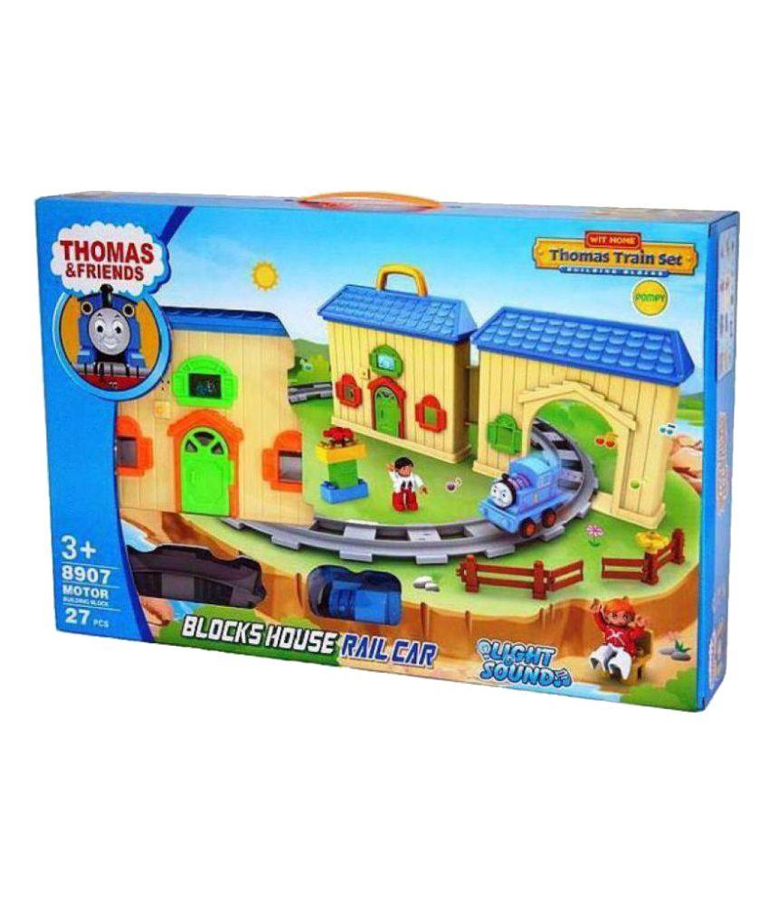 Dhawani Multicolour Thomas and Friends Light House Train Set