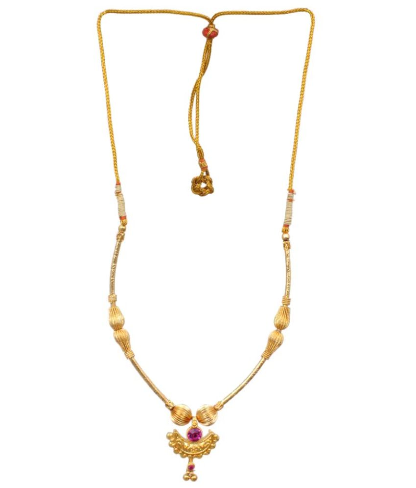 Sushito Golden Alloy Necklace