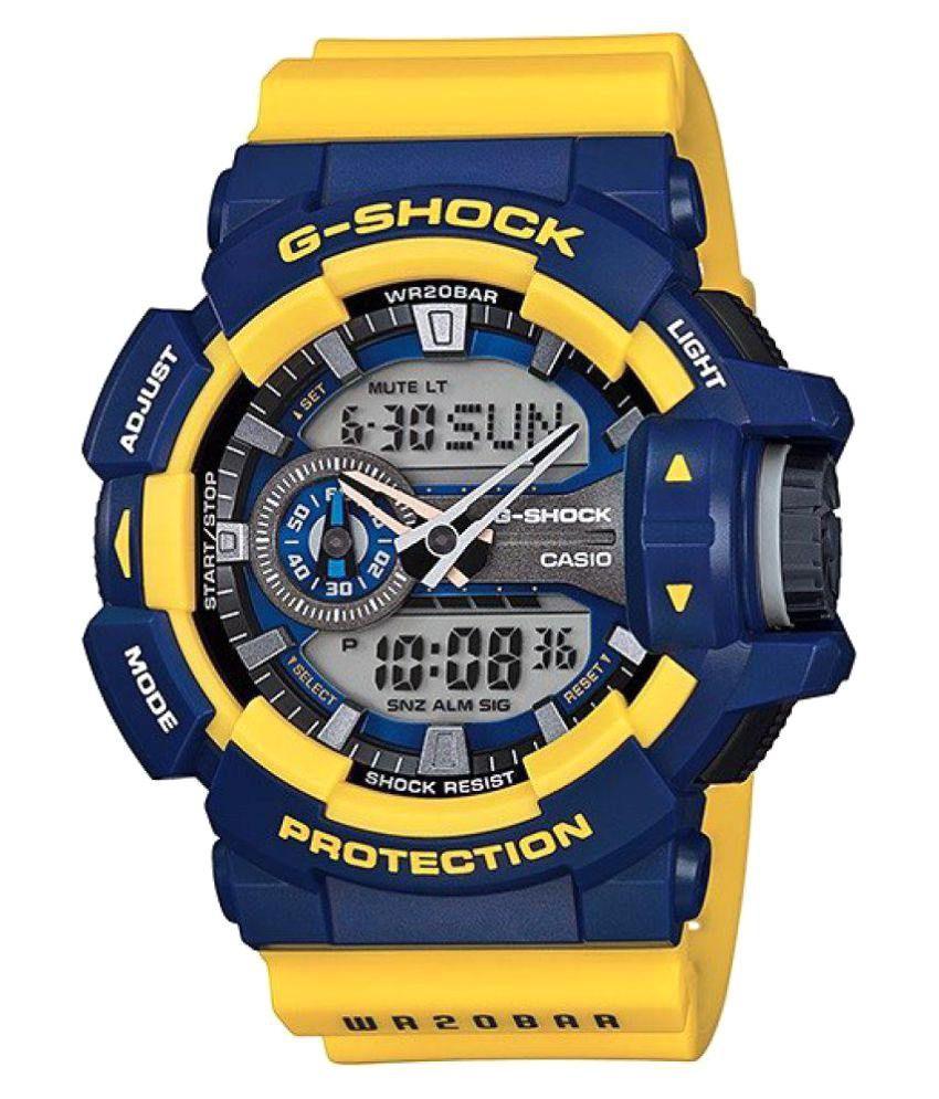 d2322bd03 Casio G-Shock GA-400-9BDR (G568) Analog-Digital Men s Watch - Buy Casio G-Shock  GA-400-9BDR (G568) Analog-Digital Men s Watch Online at Best Prices in India  ...