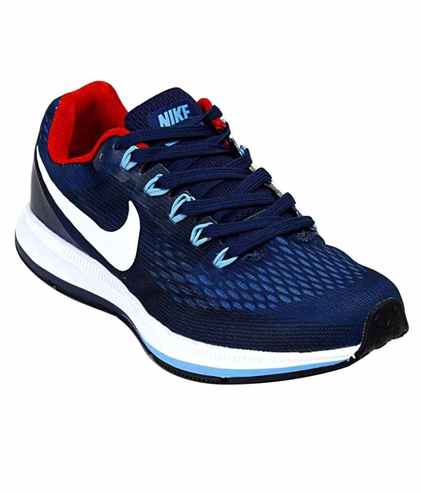 da396cefe5b4 Nike Air Zoom Pegasus 34 Shoes Navy Blue Training Shoes - Buy Nike Air Zoom  Pegasus 34 Shoes Navy Blue Training Shoes Online at Best Prices in India on  ...