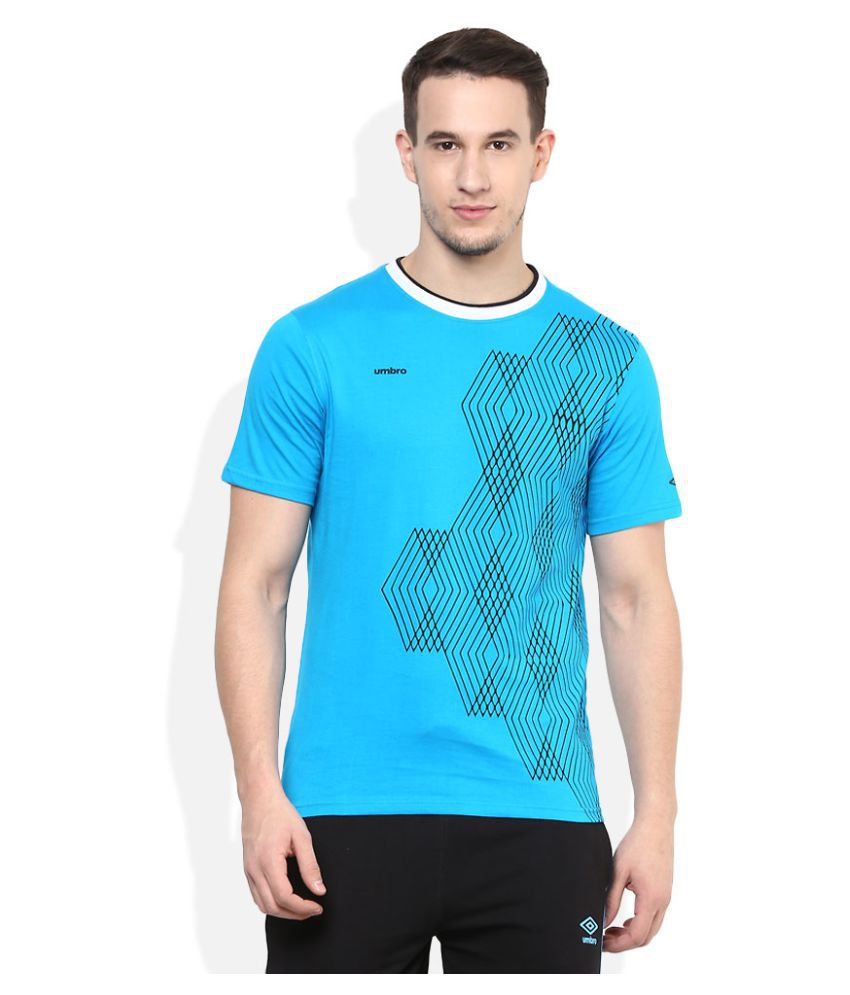Umbro Blue Round T-Shirt