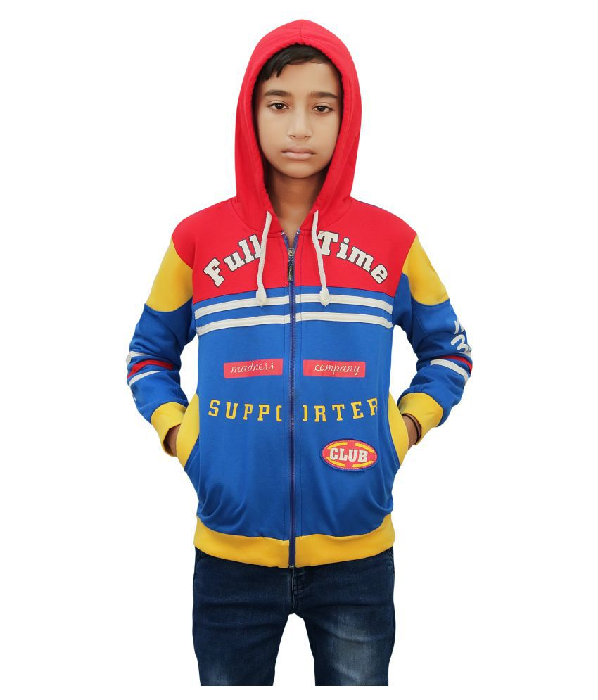 Kothari Light Blue Fleece Sweatshirt
