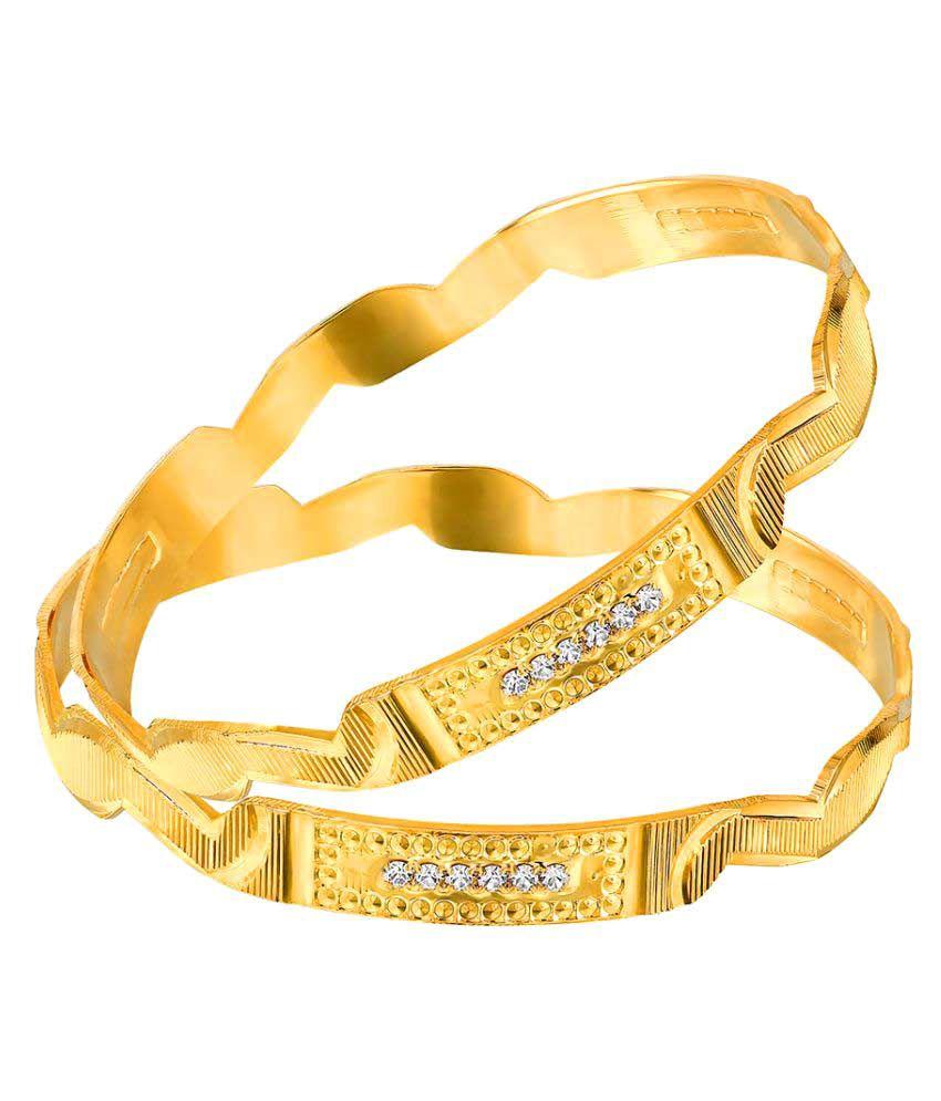 Mahi Golden Bangle Set