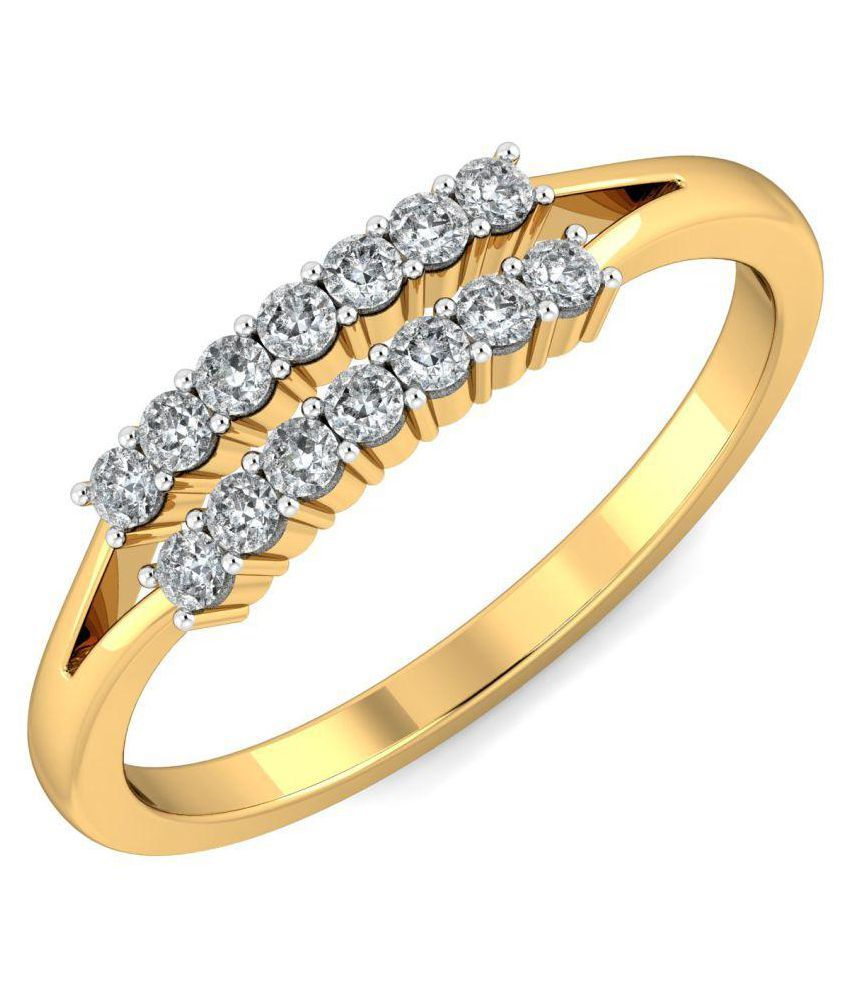 Khanna Jewels 18k Yellow Gold Ring