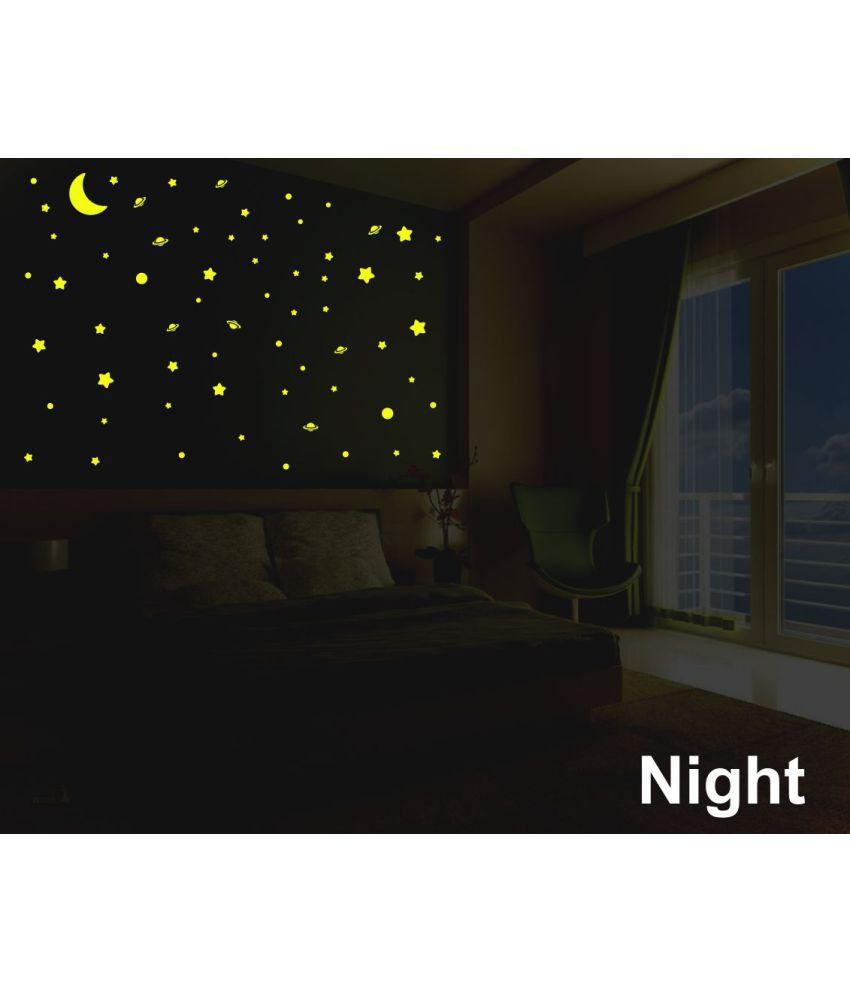 Ejaart Night Glow In Dark Vinyl Wall Stickers