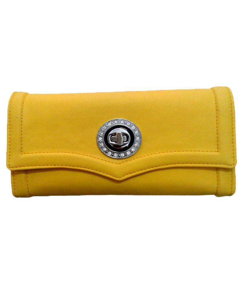 Immense Yellow Wallet