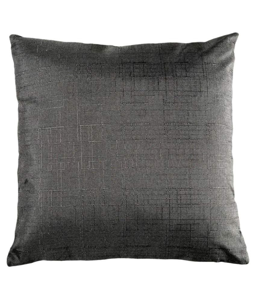 Home Artisan Single Cotton Cushion Covers with Fillers 45X45 cm (18X18)