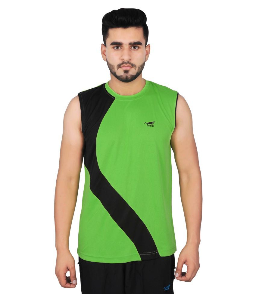 NNN Green Polyester T-Shirt Single Pack