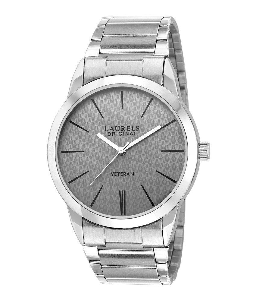 laurels original lo polo 103 silver metal analog watch buy laurels original lo polo 103 silver metal analog watch