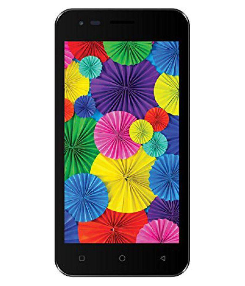 Intex Aqua 4.5 Pro 3G ( 8GB , 1 GB ) Black