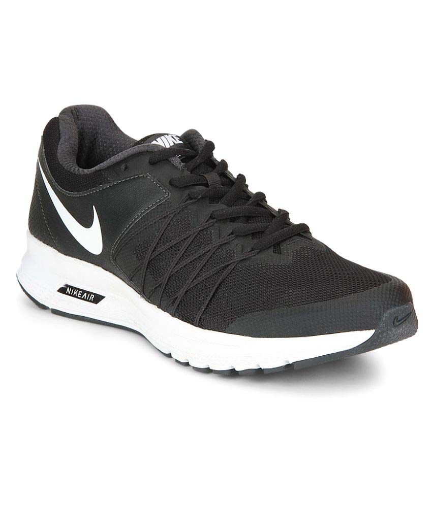 91deca7b5de Nike Air Relentless 6 Black Running Shoes - Buy Nike Air Relentless 6 Black  Running Shoes Online at Best Prices in India on Snapdeal
