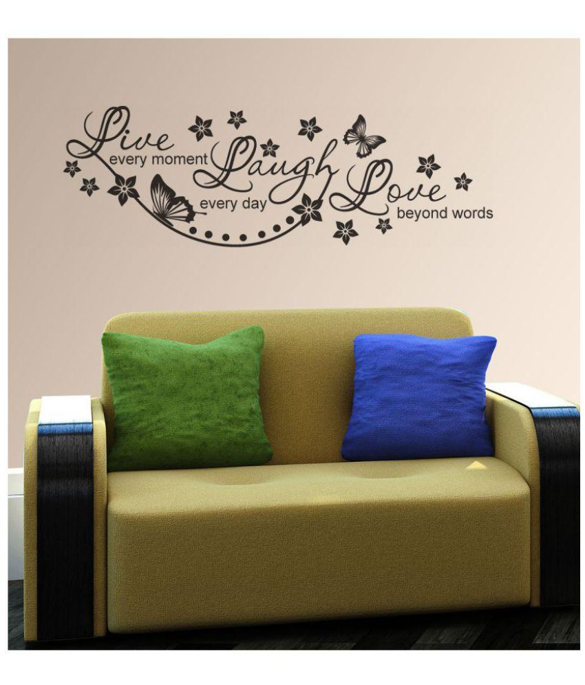 New Way Decals Quotes for Life PVC Wall Stickers