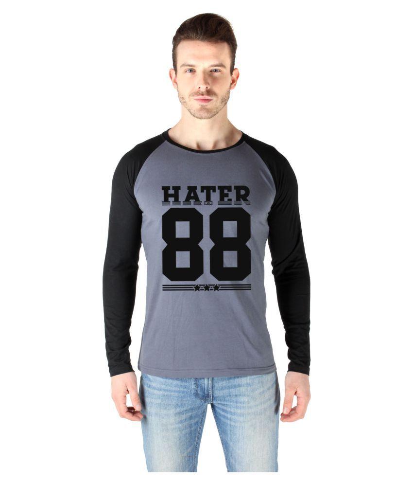 SayItLoud Grey Round T-Shirt