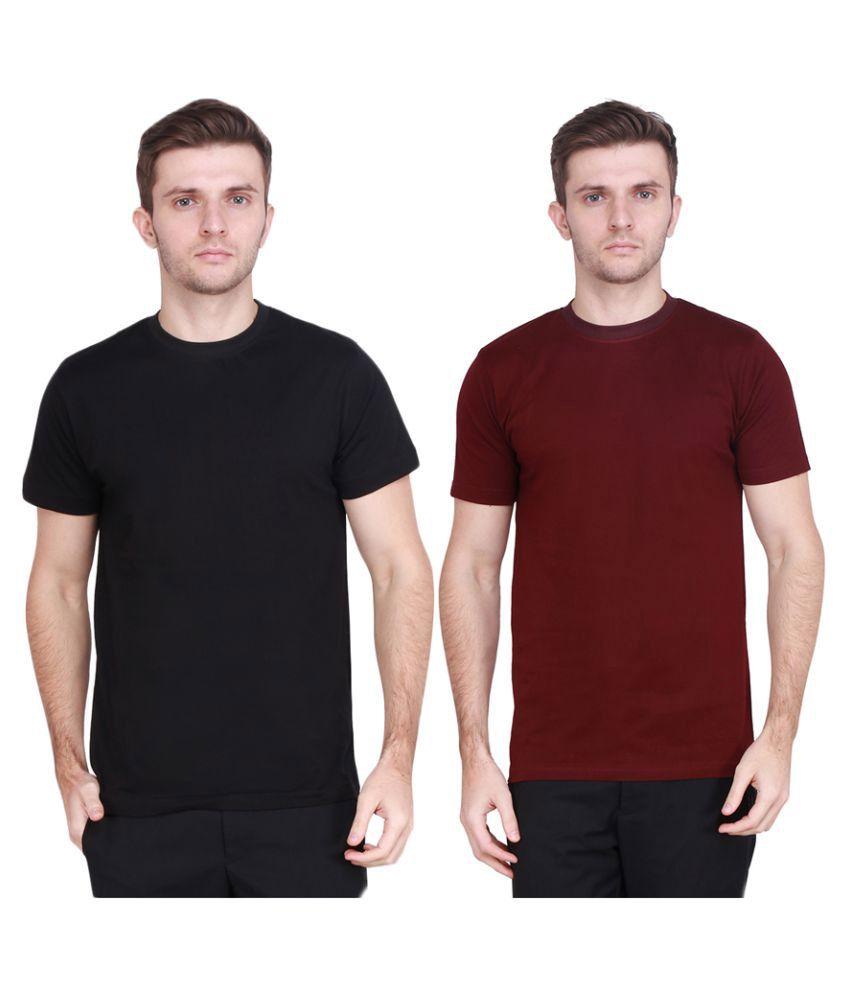 Tryyit Multi Round T-Shirt Pack of 2