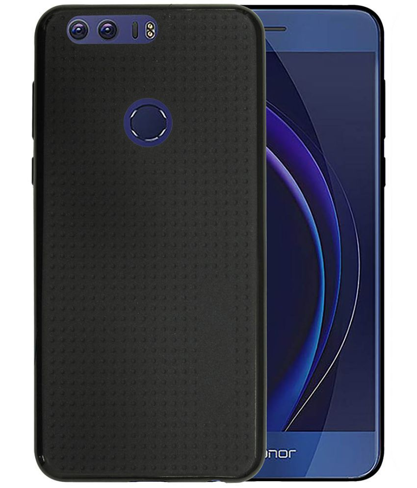 foto ufficiali e0a15 0f587 Huawei Honor 8 Cover by Casotec - Black