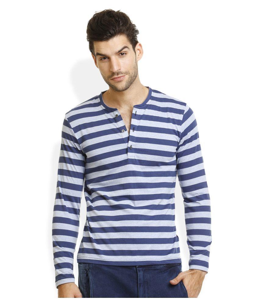 Identiti Multi Henley T-Shirt