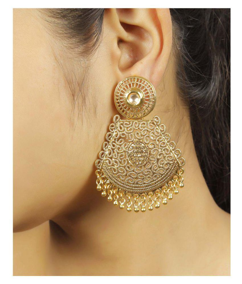 Much more golden chandelier earrings buy much more golden much more golden chandelier earrings aloadofball Image collections