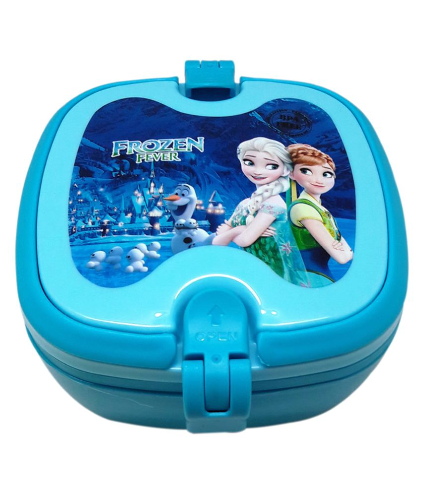 af2a0a2c6b Tuelip Blue Plastic Frozen School Lunch Box for Kids: Buy Online at Best  Price in India - Snapdeal