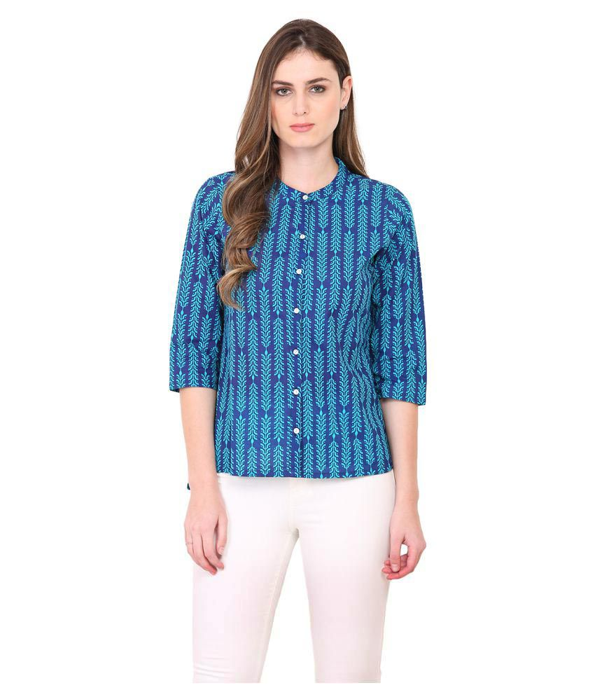 Paprika Cotton Shirt