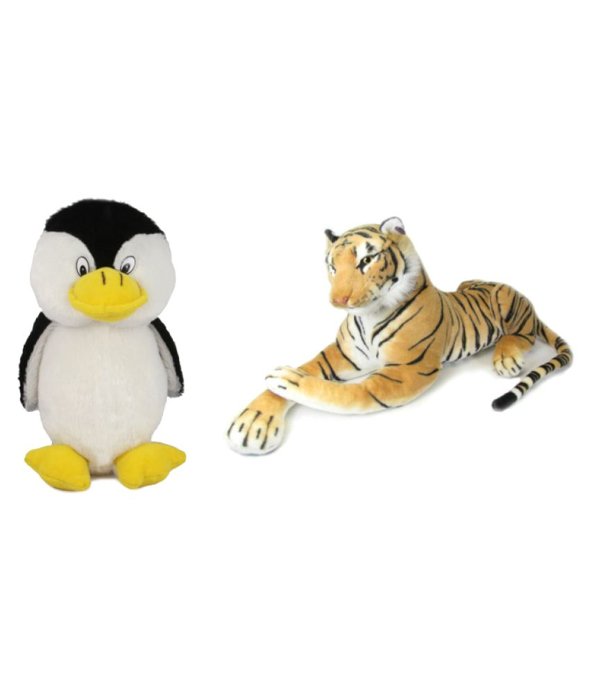 Deals India Penguin and Tiger  Soft Animal Toy combo